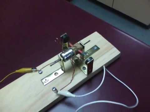 Simple DC Electric Motor