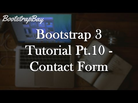 Bootstrap 3 Tutorial Pt.10 - Contact Form