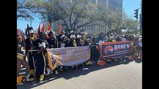 Sci-Tech Academy Krewe of Iris Parade