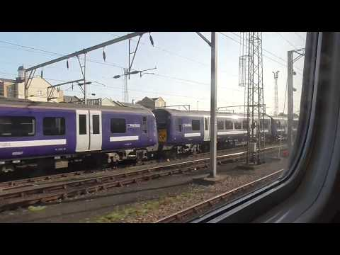 Arriving into Colchester Station 24/9/2017