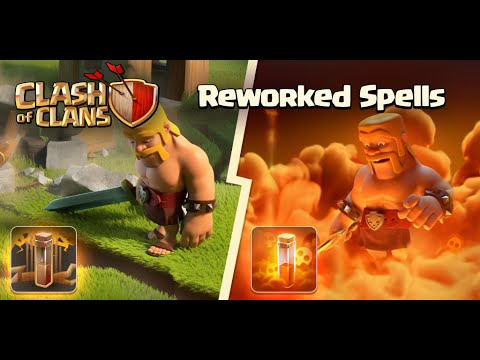 Clash Of Clans - NEW UPDATE!!! Earthquake and poison Spell Revamp