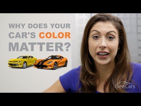 Does a Car's Color Matter?