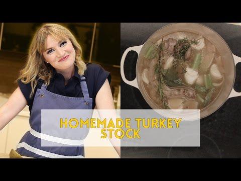 Heather Cooks | Homemade Turkey Stock