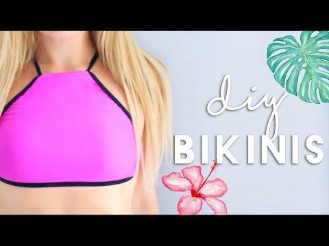 DIY Bikinis & Beach Cover Up | DIY Summer Clothes
