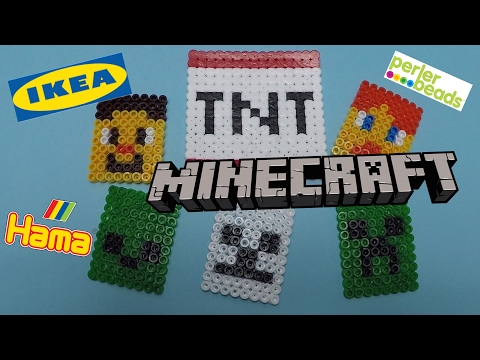 Hama Beads Minecraft Designs You Can Make - Hama Beads - Perler Beads - Hama Beads Ikea