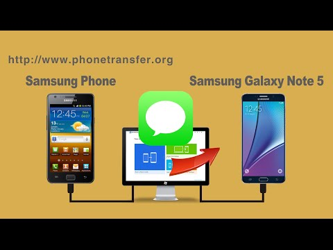 [Messages to Galaxy Note 5]: How to Sync All SMS from Samsung Phone to Samsung Galaxy Note 5