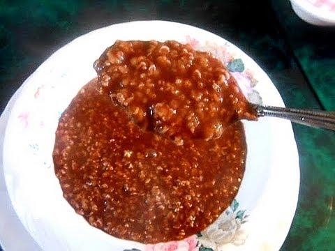 Oatmeal Champorado