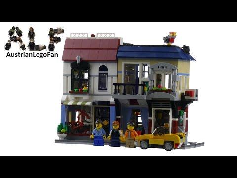 Lego Creator 31026 Bike Shop & Cafe - Lego Speed Build Review
