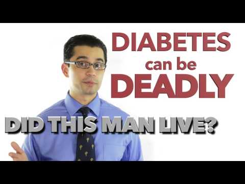Diabetes can KILL YOU! Dangers of Diabetes with Ketoacidosis