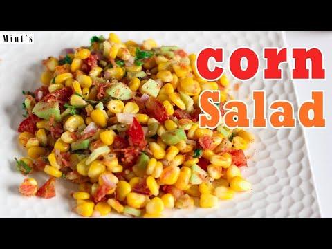 Sweet Corn Salad Recipe - Easy Salad Recipe In Hindi