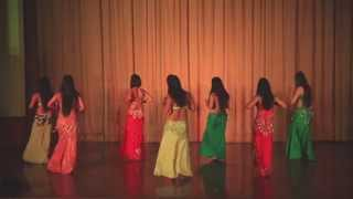 BANJARA SCHOOL OF DANCE- PEHLA PEHLA PYAAR HAI- RAQS SHARQI(INDIAN TARAB)