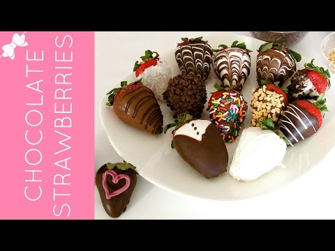 How To Make Beautiful, Gourmet Chocolate Covered Strawberries // Lindsay Ann Bakes