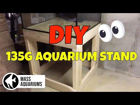SCA 135 Gallon Aquarium: DIY Aquarium Stand Build