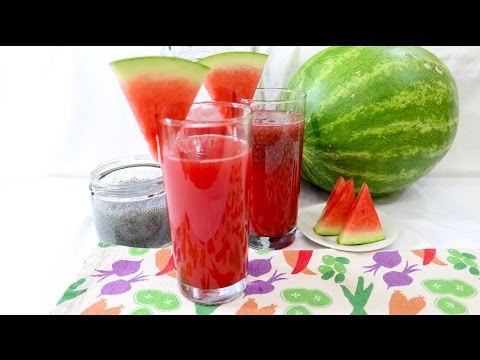 Watermelon and Basil Seed Drink - Episode 95