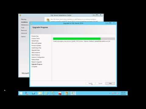 Upgrade SQL Server 2008 R2 to SQL Server 2014