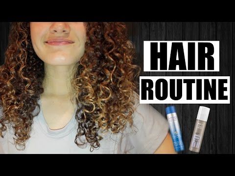 UPDATED Curly Hair Routine