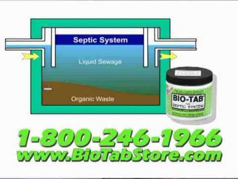 BIO-TAB SEPTIC TREATMENT