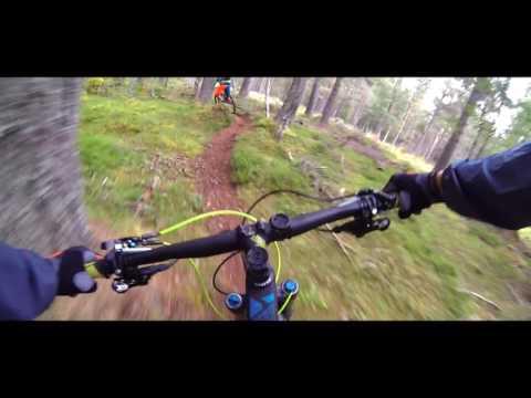 Mountain Biking trailer