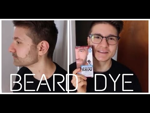 FTM Tries Facial Hair Dye!