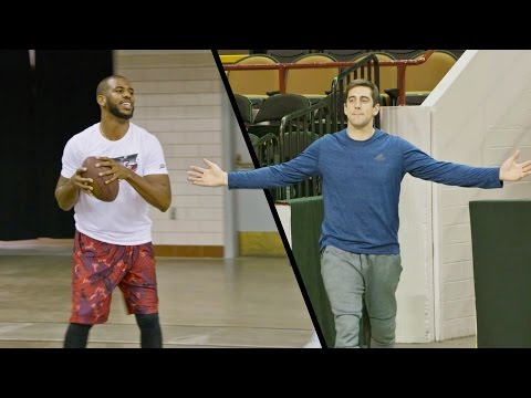Chris Paul & Aaron Rodgers Edition   Dude Perfect