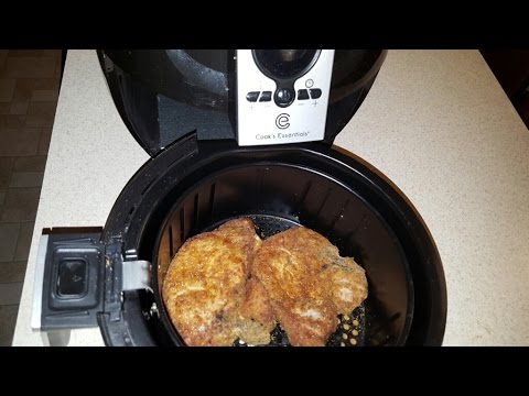 AIR FRYER PORK CHOPS COOK'S ESSENTIALS AIRFRYER slap ya mama seasoning