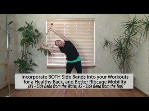 Healthy Back Exercises - Side Bends