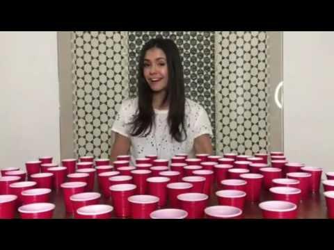 NINA DOBREV DRINK 10+MILLION SHOTS