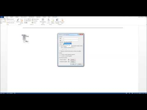 How To Insert Tick Boxes Into Microsoft Word Documents