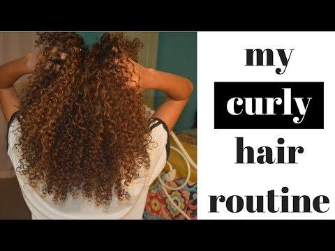 CURLY HAIR ROUTINE | SHEA MOISTURES