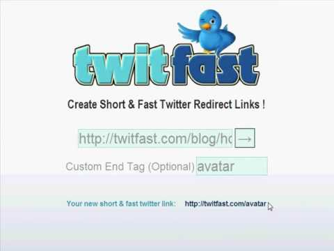 TwitFast.com - How to get a short Twitter URL !
