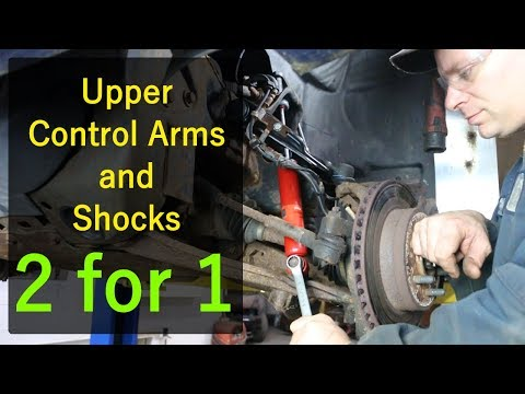 Dodge Dakota - Upper Control Arms and Shocks