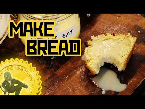 Kefir bread and condensed milk - Low budget cooking