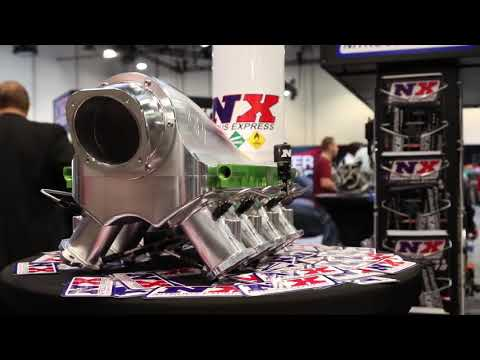 SEMA 2017-Nitrous Express Unveils Direct Port Water Methanol, 5.0L Mustang Plates and More!!