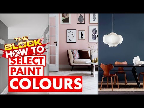 How to pick the right paint colour when painting walls | The Block How To with Scott Cam