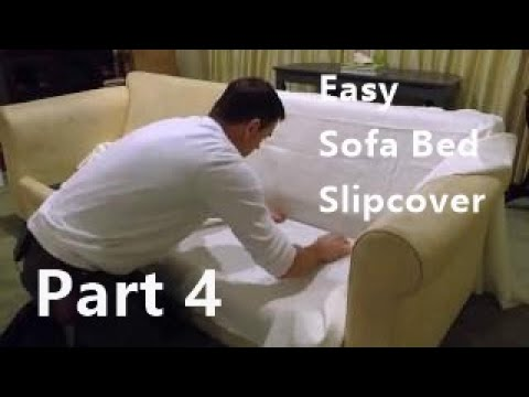 Sewing of Sofa bed Slipcover Part 4 final
