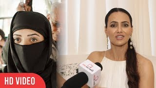 Every Burkha Girl Is Not A muslim   Never Judge Any Person   Sana Khan Reaction On Judgement