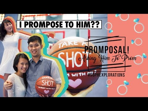 💍 PROMPOSAL! Asking Him To Prom 👔 || Sophia Liew