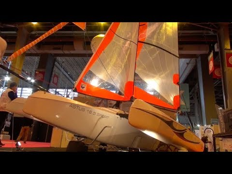 2017 Paris Boat Show Astus 16 5 & 20 5 model