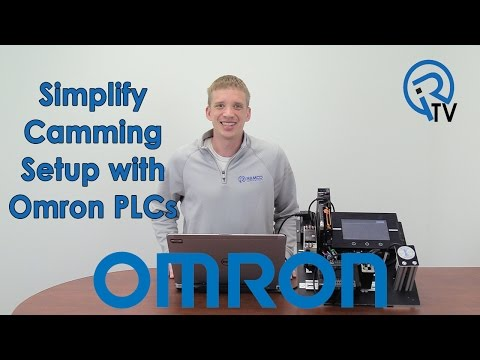 Simplify Camming Setup with Omron PLCs