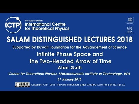 Salam Distinguished Lecture Series 2018 - Supported by KFAS - Alan Guth - 3 of 3