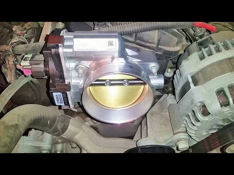 2007 chevy silverado throttle body replacement ( how I did it)