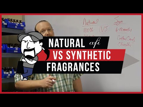 NATURAL FRAGRANCES VS SYNTHETIC