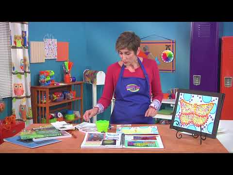Learn about pop art by Kusama on Hands On Crafts for Kids with Candie Cooper (1902-3)