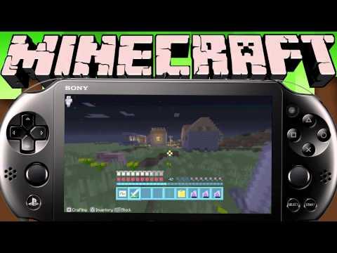 Minecraft (Vita/ Vita TV) - Cure a Zombie Villager!