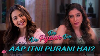 De De Pyaar De: Dialogue Promo–Aap Itni Purani Hai? | Ajay Devgn | Tabu | Rakul | Releasing May 17th