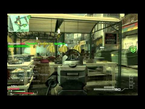 Modern Warfare 3: SnD P90 1v6 Clutch