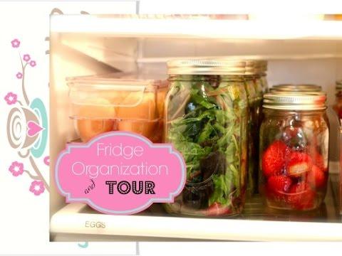 Easy Fridge Organization to Keep Food Fresh + to Grab & Go {how to organize}