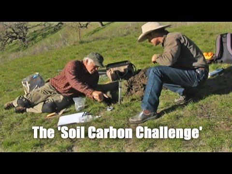 Peter Donovan talks about the 'Soil Carbon Challenge'