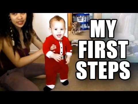 DEXTER TAKES HIS FIRST STEPS! - 9 MONTHS OLD