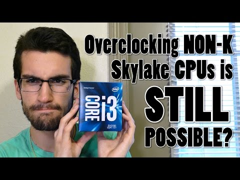 Overclocking an i3 6100 to 4.4GHz (Tutorial)